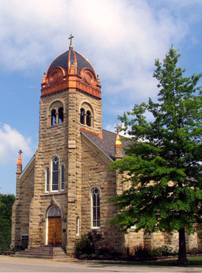 Immaculate conception church sacred landmarks for Laporte county building department
